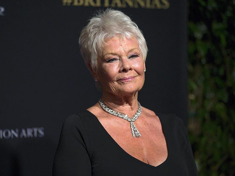 Actor Judi Dench poses at the BAFTA Los Angeles Britannia Awards at the Beverly Hilton hotel in Beverly Hills, California October 30, 2014. (Reuters)