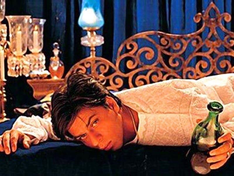 Devdas: Shahrukh's role as Devdas was both criticized and applauded. Although it's unfair to compare him with Dilip Kumar in the original Devdas, we believe he could have contributed a little more to the character. Nevertheless, it was a good watch. The film was included in Time Magazine's top 10 films of the millennium worldwide.  Famous dialogues: Kaun kambakht bardaasht karne ko peeta hai ... hum toh peete hai ki yahan par baith sake, tumhe dekh sake, tumhe bardaasht kar sake.