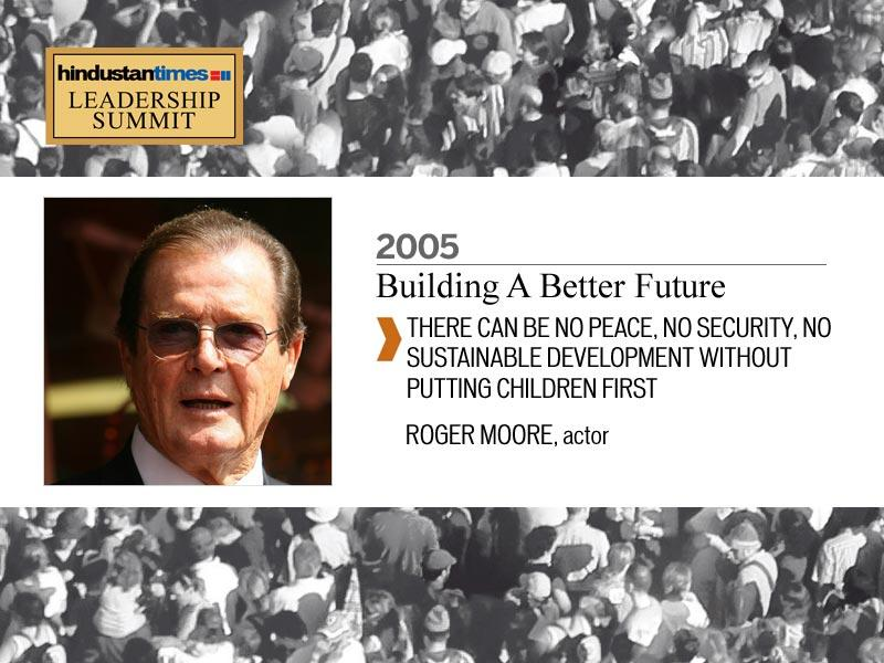 Roger Moore, 2005