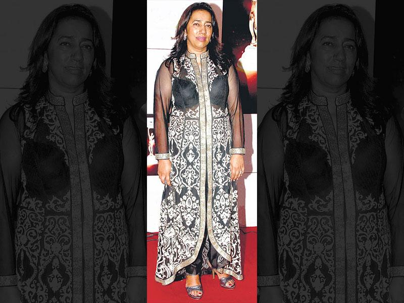 The ugly: Anu Ranjan at an awards event on NovemberOur take: For a woman her age, the entrepreneur has no business flaunting a visible bra under a sheer kurta– even if it provides that much coverage.