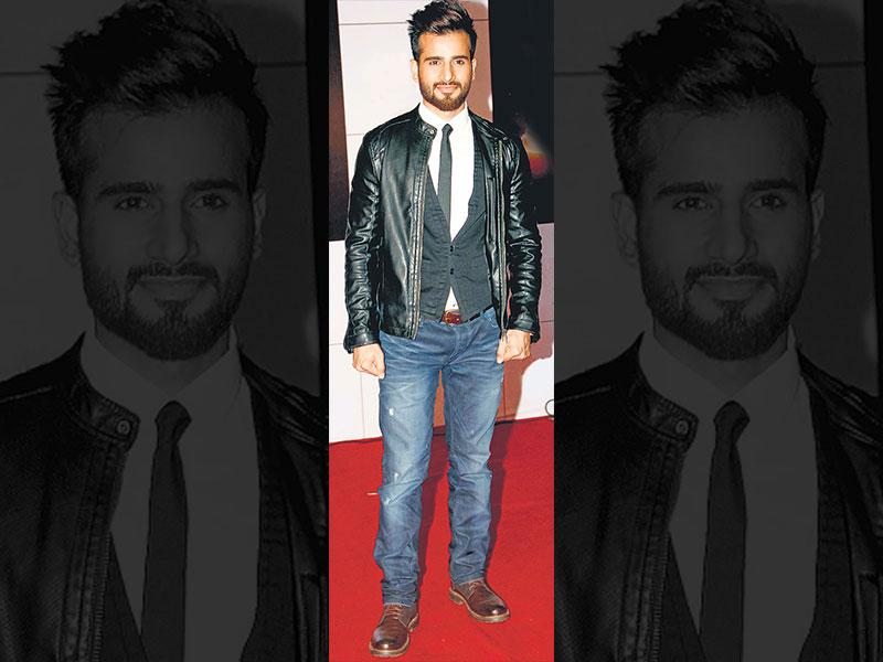 The bad: Karan Tacker at an awards event on NovemberFor a formal event, it's a great idea to add a vest beneath your jacket– not so much when the jacket in question is made of leather.
