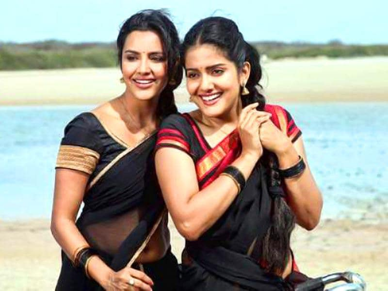 Priya Anand plays an educated girl from Madurai who obviously has a romance with the lead hero, Vimal.