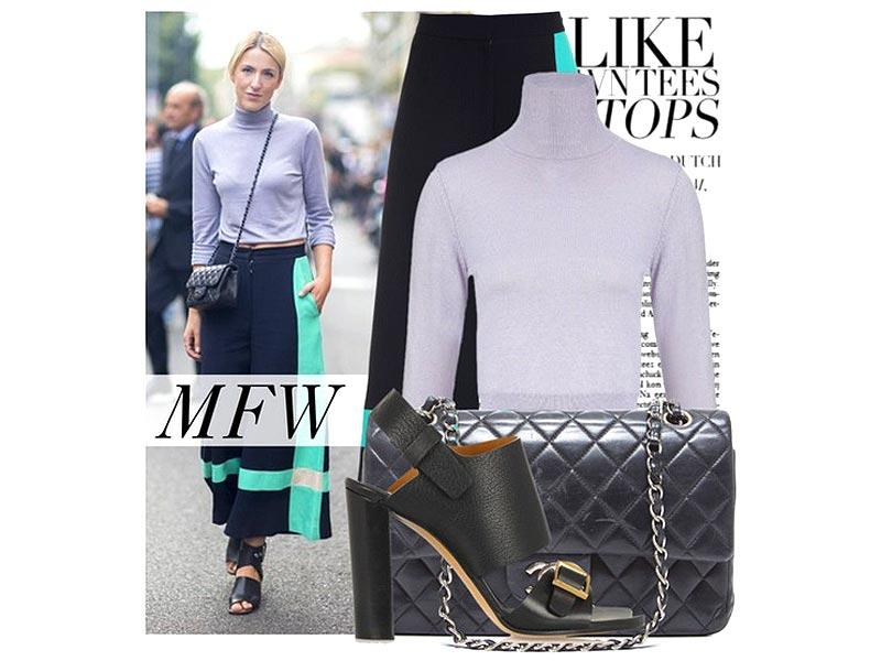 Who thought turtleneck could be street cool? At least not like this! This look is simplistic, but big on style. You too can take the Plain Jane route and keep your look about just one or two statement accessories and let the outfit speak for itself.