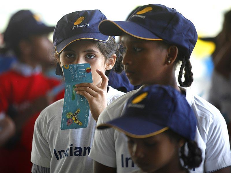 On the eve of Childrens' Day, underprivileged and special children were taken on a jet ride in Mumbai. (Vidya Subramanian/HT photo)
