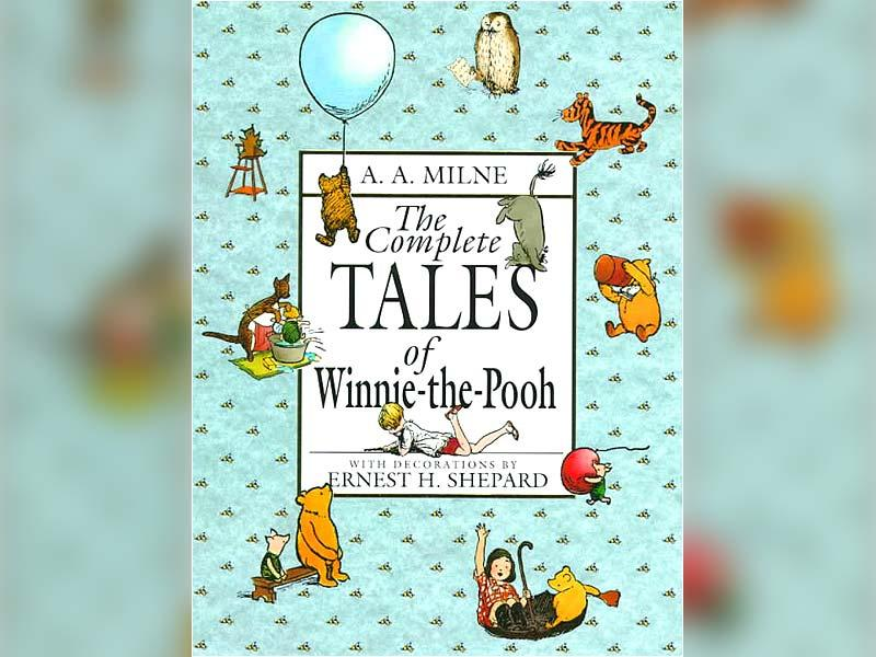 Winnie-the-PoohFirst published in 1926, Winnie-the-Pooh by A. A. Milne talks about the adventures of a teddy bear called Winnie-the-Pooh, his toy pig called Piglet, a toy donkey called Eeyore; and a live owl and rabbit called Owl and Rabbit.