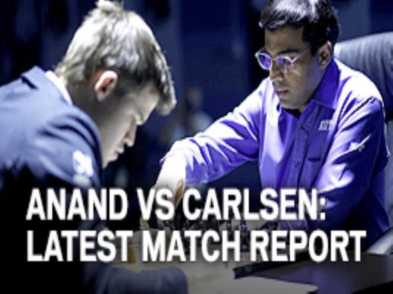 Anand vs Carlsen: Latest match report
