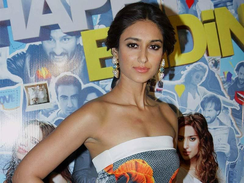 Ileana D'Cruz sizzled at the screening of Happy Ending. (PTI Photo)