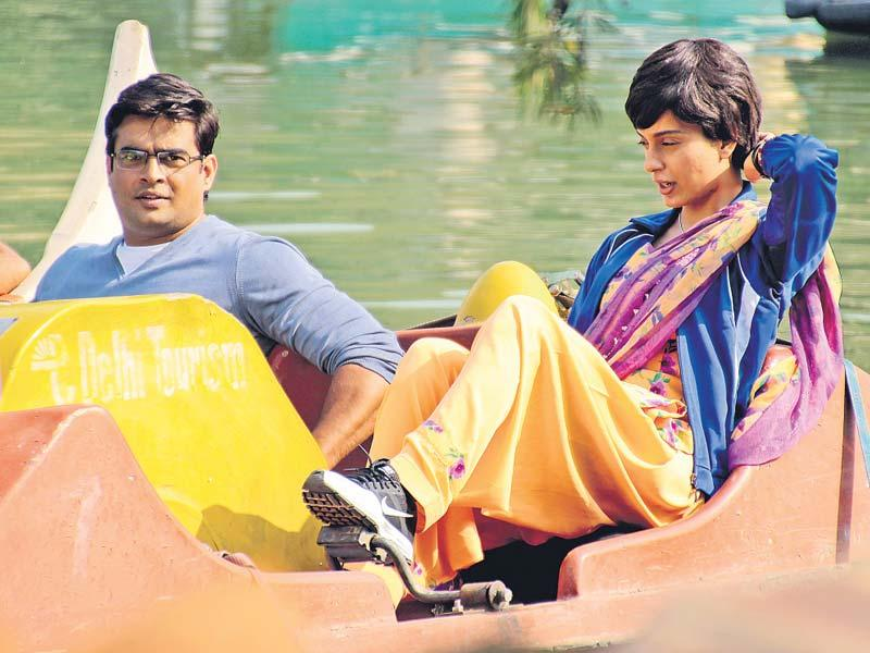 Anand L Rai was spotted along with R Madhavan and Kangana Ranaut boating in Delhi. Browse through. (Photo: Shivam Saxena/HT)