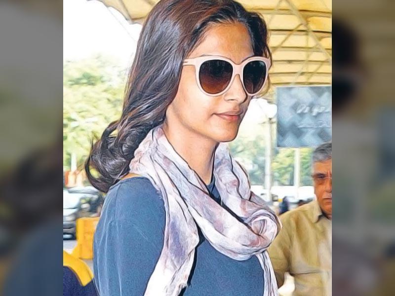 LOOKING DIFFERENT: Sonam Kapoor