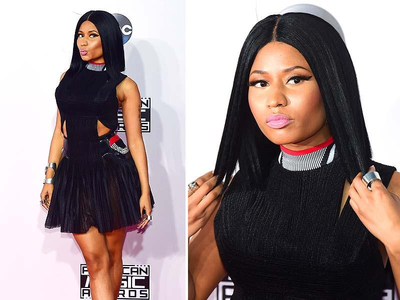 Nicki Minaj attends the 2014 American Music Awards at Nokia Theatre LA Live in Los Angeles, USA, November 23, 2014. (Agencies)