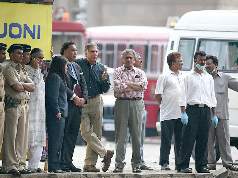 Gunmen took control of luxury Taj Mahal hotel, owned by Ratan Tata during the 26/11 attacks. (HT file photo)