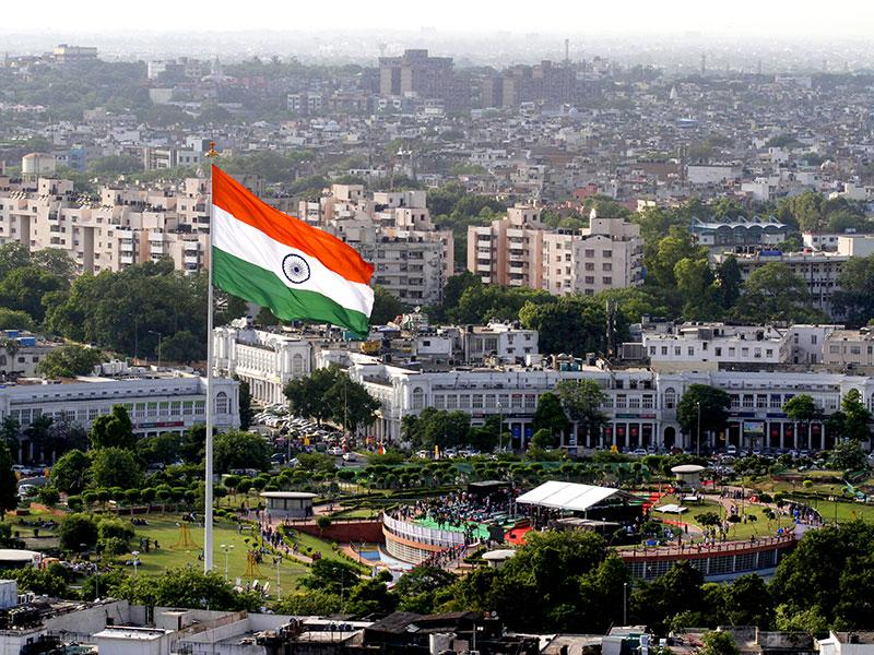 The tricolour hoisted on the 207-feet high mst in CP has becoming one of its most popular landmarks.