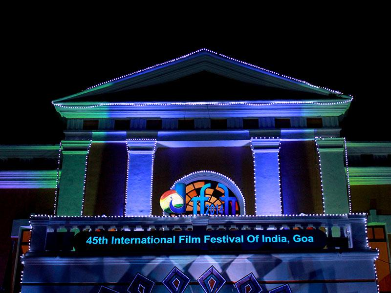 Sights from International Film Festival of India 2014: A view of INOX Theatre, the main venue of IFFI 2014. (Rohit Vats/HT Photo)