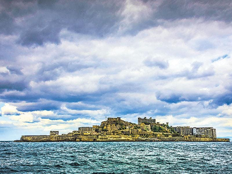 Hashima Island, Japan: In 2012, James Bond (Daniel Craig) made this island one of his stops in Skyfall.