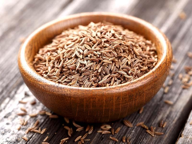 Add a little bit of spice: Though you might not be craving much flavor the day after pie-extravaganza, adding a bit of spice to your dishes might help soothe your stomach. Cumin has been shown to stimulate the liver to secrete more bile, which helps the body better digest.