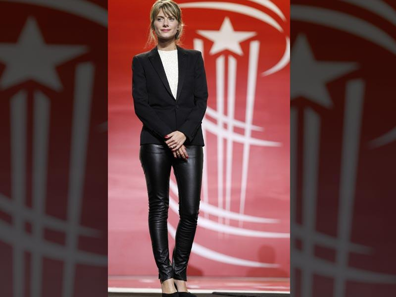 French actor Melanie Laurent attends the jury photocall for the 14th Marrakech International Film Festival, December 5, 2014. (Reuters)