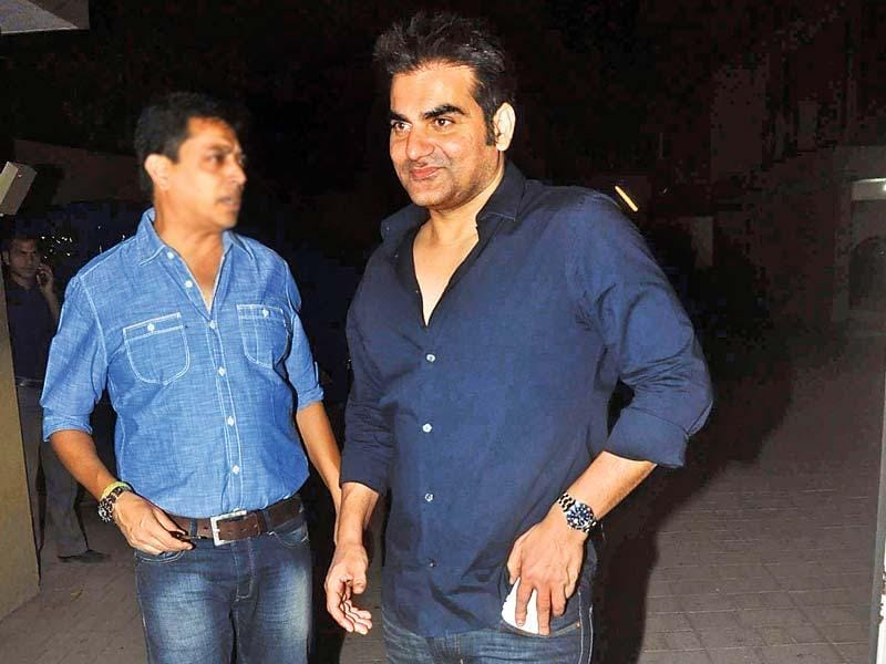 Arbaaz Khan was also present at the party.