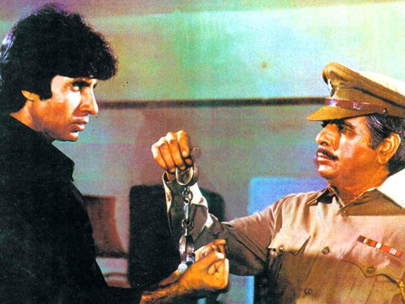 Shakti: Two superstars had a face off in 1982 with Ramesh Sippy's Shakti. While Amitabh Bachchan esayed the role of a police officer's son, Dilip Kumar played the police officer.
