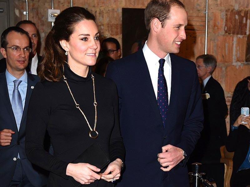 Kate looked dazzling at a luncheon in New York, which she attended with husband Prince William in November, 2014. (AFP)
