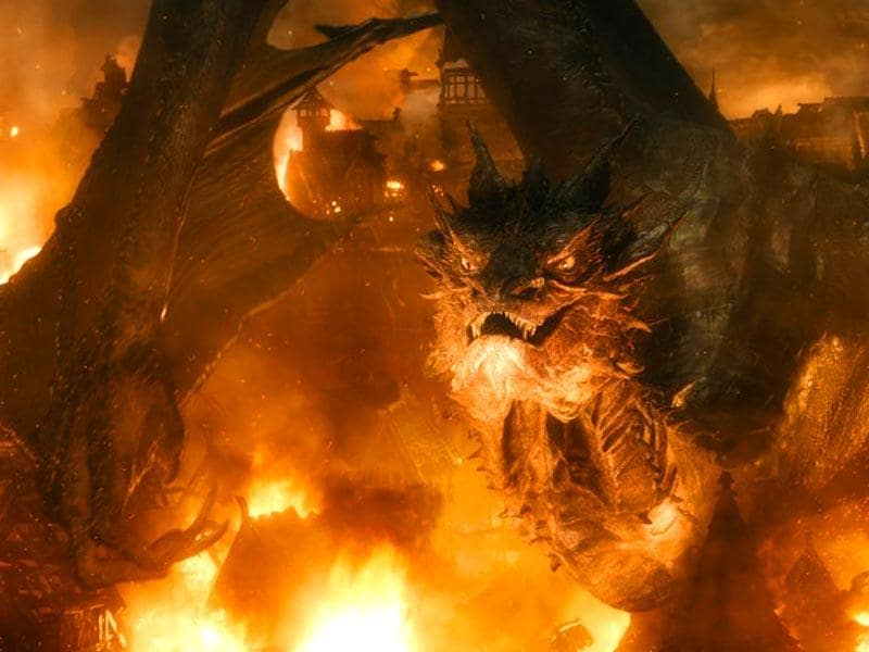 Benedict Cumberbatch will be back as the voice of deadly dragon Smaug.