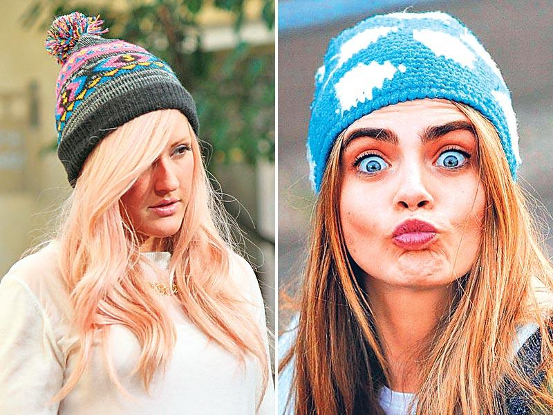 Pack a peppy printed punchGive the solid hues a rest and go wild with prints. From fluffy clouds to the kitschy Christmas-y snowflakes and ­beanies with boho-chic multi-coloured yarn knit — take your pick of the crown you want to rock this winter!