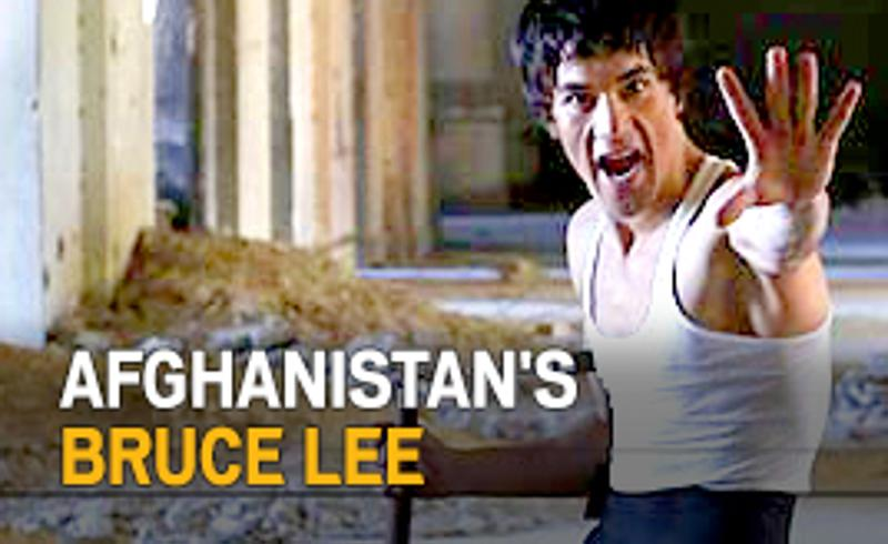 Meet Afghanistan's Bruce Lee