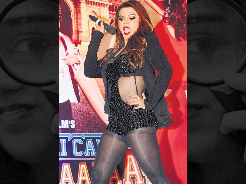 The ugly: Rakhi Sawant at a film event. OURTAKE: We've missed Rakhi's antics, but not her outlandish dressing sense. This outfit should land up in the reject pile even during costume trials for back-up dancers in a B-grade film.