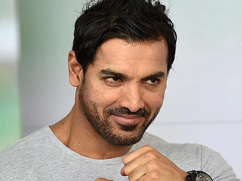 John Abraham, Brand Ambassador for Make a Wish Foundation, was in complete fun mode at the function for the underprivileged children, in New Delhi. (PTI Photo)