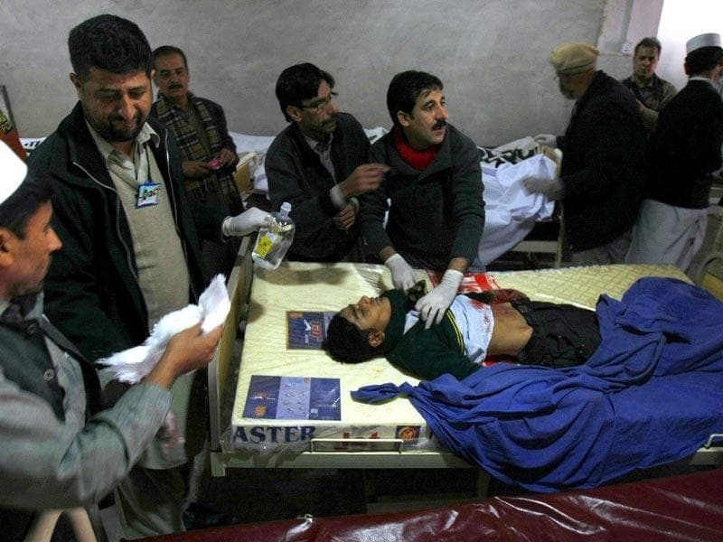 Pakistan has hanged 24 convicts since resuming executions in December after Taliban militants gunned down more than 150 people, most of them children, at a school in the restive northwest. (AP Photo)