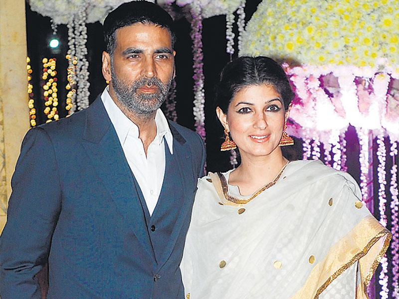 Akshay Kumar and Twinkle Khanna also attended the reception. (Photo: Prodip Guha)