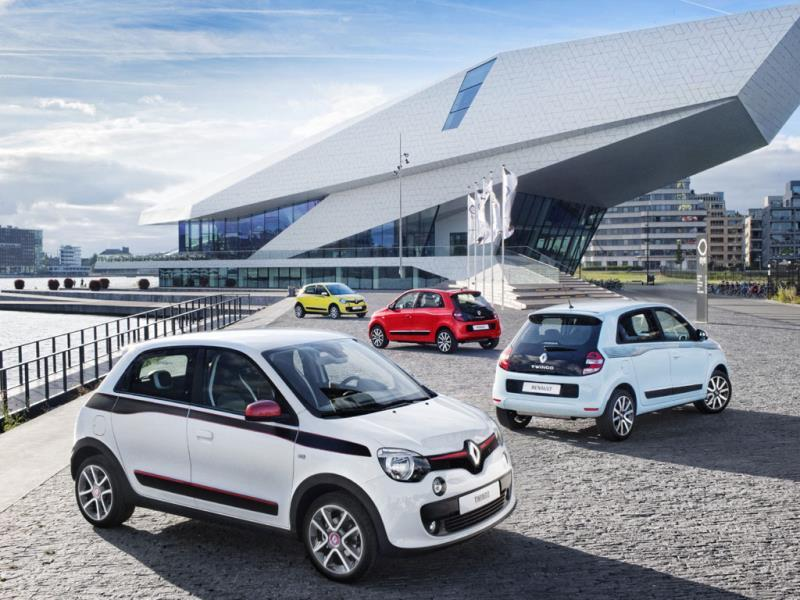 The Renault Twingo : The Twingo has charm, androgynous good looks and incredible poise and maneuverability thanks to its combination of rear-wheel drive a rear-mounted engine and like the original Mini, a wheel firmly at each corner. Should be fun, even in a tailback. Photo:AFP