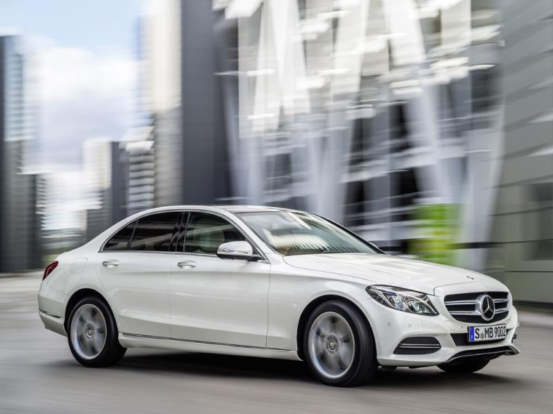 The 2014 Mercedes-Benz C-Class : What makes the C-Class special is that Mercedes hasn't scrimped in any way in terms of creature comforts and cutting-edge technologies. It offers almost as much gadgetry and refinement as the flagship S Class but in a much more compact and affordable package. Photo:AFP
