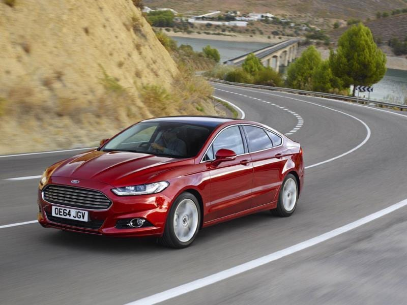 The 2015 Ford Mondeo : The Mondeo used to be a great driver's car, now it is a much more refined and comfortable all-rounder. The new model is the best-looking yet and finally has the options and specifications to match what BMW and Audi can offer. Photo:AFP