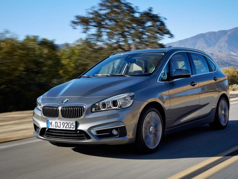 BMW 2-Series Active Tourer : The first BMW to come with front- instead of rear-wheel drive is still entertaining to drive and practical to own and is aimed at younger drivers who have a diary overflowing with exciting and adventurous things to do. Photo:AFP