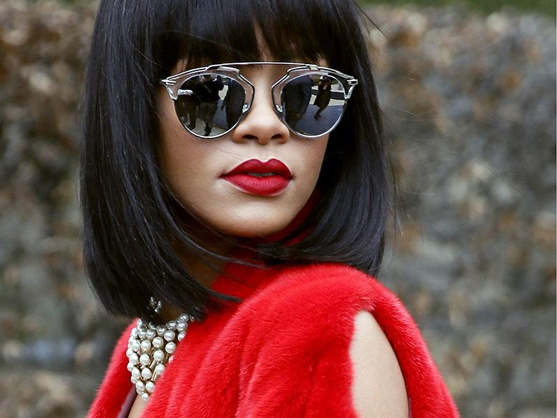We love a matchy-matchy moment — especially when it involves sumptuous fur and even sexier scarlet lips at Dior.