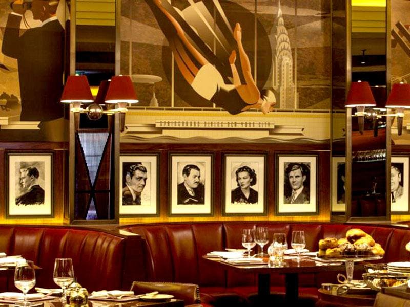 The Beaumont's Colony Grill Room in London.