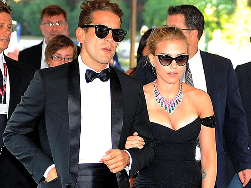 Scarlett Johansson and fiance Romain Dauriac tied the knot in a secret and rather romantic ceremony on a ranch in Pittsburgh. In attendance was their daughter Rose and her nanny.