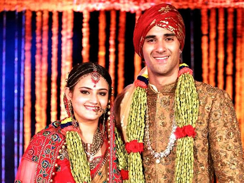 Salman Khan's rakhi sister Shweta Rohira married actor Pulkit Samrat in Goa in November. Salman did the kanyadaan.