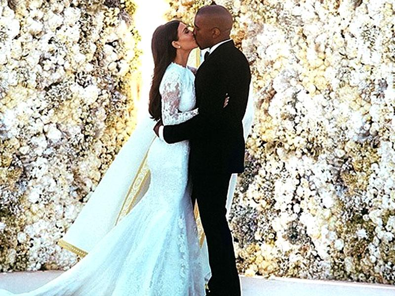 Probably the loudest wedding of the year saw Kim Kardashian and Kanye West saying 'I do'. The four-day extravaganza took place in Paris and Florence this June. The Kris and Jenner clan shared loads of wedding images and kept the world hooked.