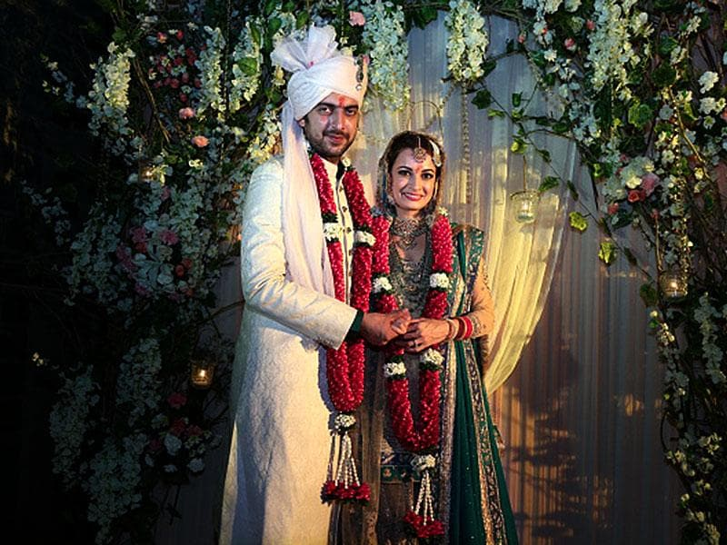 Dia Mirza had a fairytale wedding to longtime beau Sahil Sangha in Delhi this October. The actor tweeted images of her intimate Arya Samaj wedding as well as pre-wedding events.