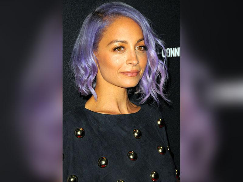 Coolest hair colour: Nicole Richie. She went lavender this year and made punk oh-so-pretty.