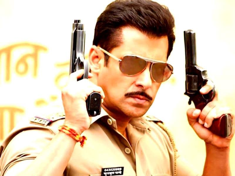 Salman Khan re-defined the way shades were used with his character in Dabangg.