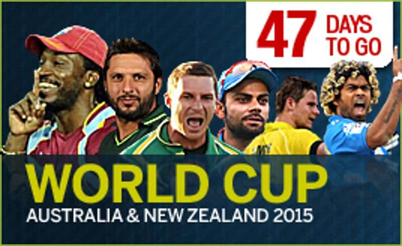 ICC Cricket World Cup 2015 - 47 days to go
