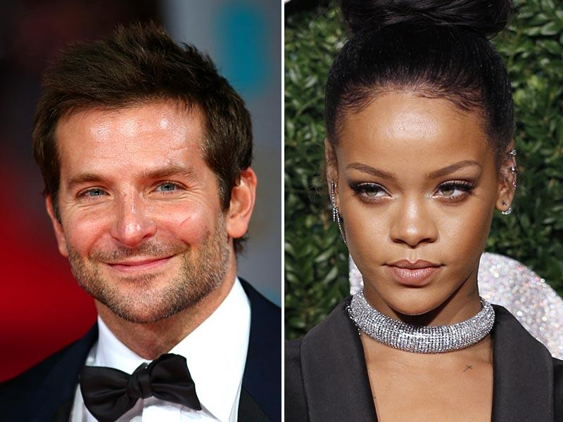 6. Bradley Cooper and RihannaAlready crushworthy when he made us laugh in The Hangover in 2009, the actor has only become increasingly sexy in the years since as he shows his dramatic acting talent. With his