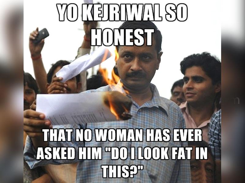 "Honestly, Kejri No sooner had Arvind Kejriwal quit as Delhi chief minister, the internet world went on an overdrive trolling the 'honesty' of the Aam Aadmi Party chief. Heck, even the hashtag #YoKejriwalSoHonest was so honest, it made other hashtags seem corrupt. But, as they say, #YoKejriwalSoHonest that he rolls on the floor before texting ""ROFL""!"