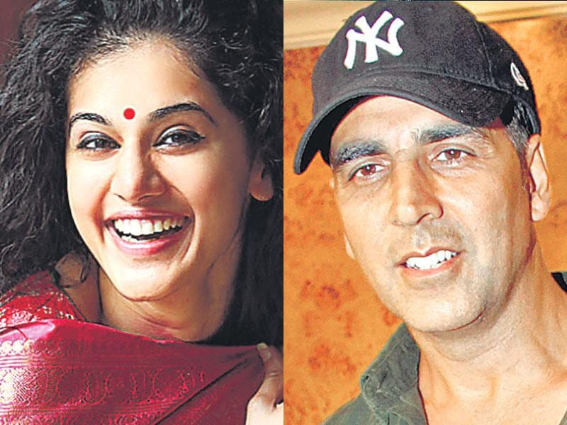 Akshay Kumar and Taapsee Pannu in Baby: Actors Akshay Kumar and Taapsee Pannu will be seen together in Neeraj Pandey's directorial, Baby. The two are playing secret agents in the film and buzz is that it was Akshay who helped Taapsee train for her role in the film.