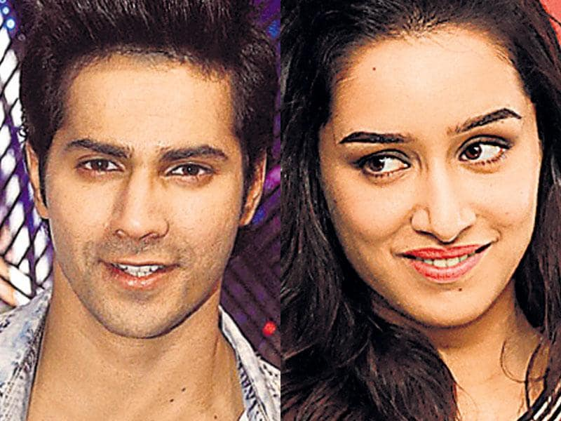 Varun Dhawan and Shraddha Kapoor in ABCD 2: Even though they were not a part of the first film, actors Varun Dhawan and Shraddha Kapoor will be seen in Remo D'Souza's ABCD 2. Both Shraddha and Varun, who play budding ­choreographers, recently shot for the film in Las Vegas, US.