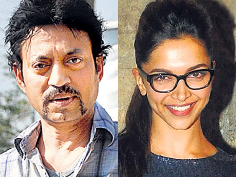 Irrfan Khan and Deepika Padukone in Piku: Deepika Padukone and Irrfan Khan will be seen together in the film Piku, directed by Shoojit Sircar. The buzz is that the two, who have been part of different film genres, share a sizzling chemistry in the film, which is an unusual love story.