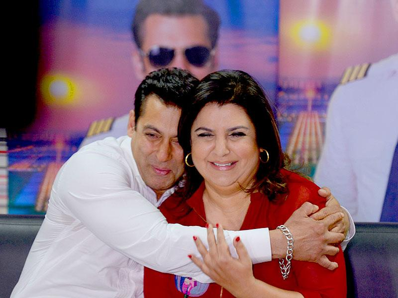 Farah Khan takes over as the host of Bigg Boss 8 since Salman Khan had to shoot for Bajrangi Bhaijaan.