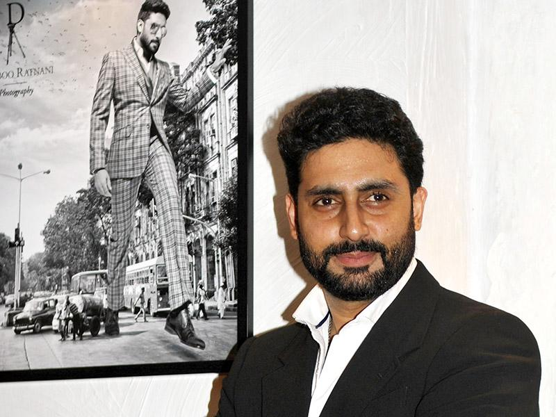Abhishek Bachchan's photo seemed to be inspired by the popular fiction of Gulliver's Travel. Looks like, the actor always finds a spot in Ratnani's calendar.